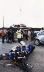 Мото авария