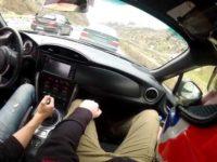 Вождение машины на механике